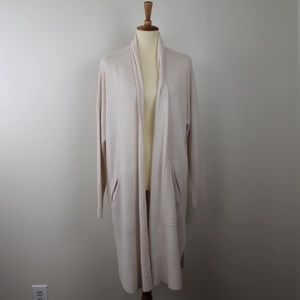 Madewell Long Natural Sweater Cardigan S